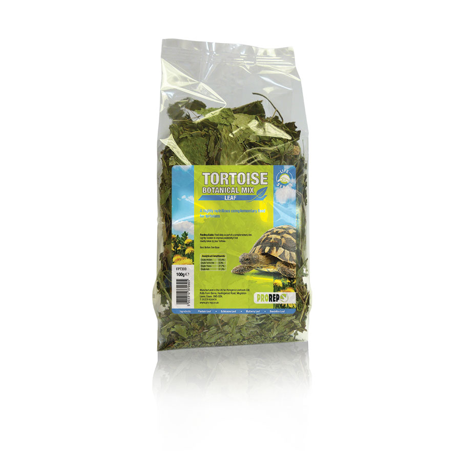 ProRep Tortoise Botanical Leaf Mix, 100g