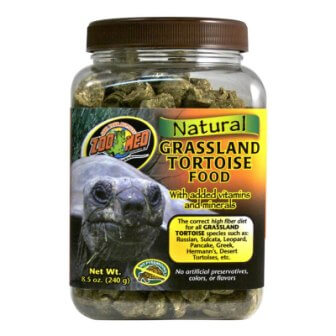 Zoo-Med Grasslands Tortoise Food, 240g tub - OUT OF STOCK