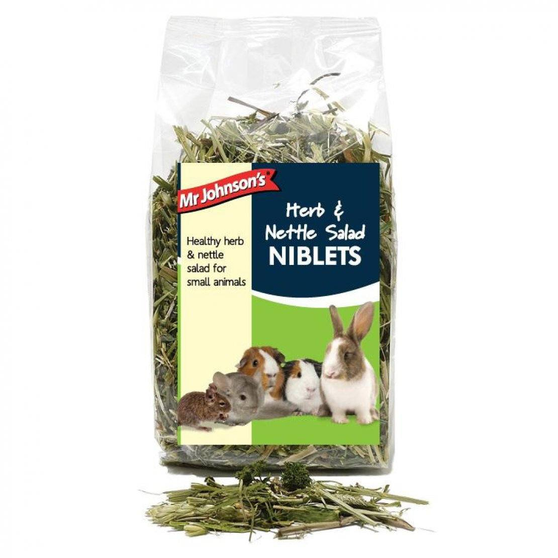 Mr Johnson's Herb and Nettle Salad, 100g