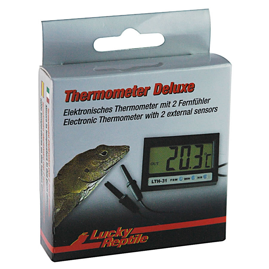 Lucky Reptile Thermometer Deluxe (2 x sensor probes)