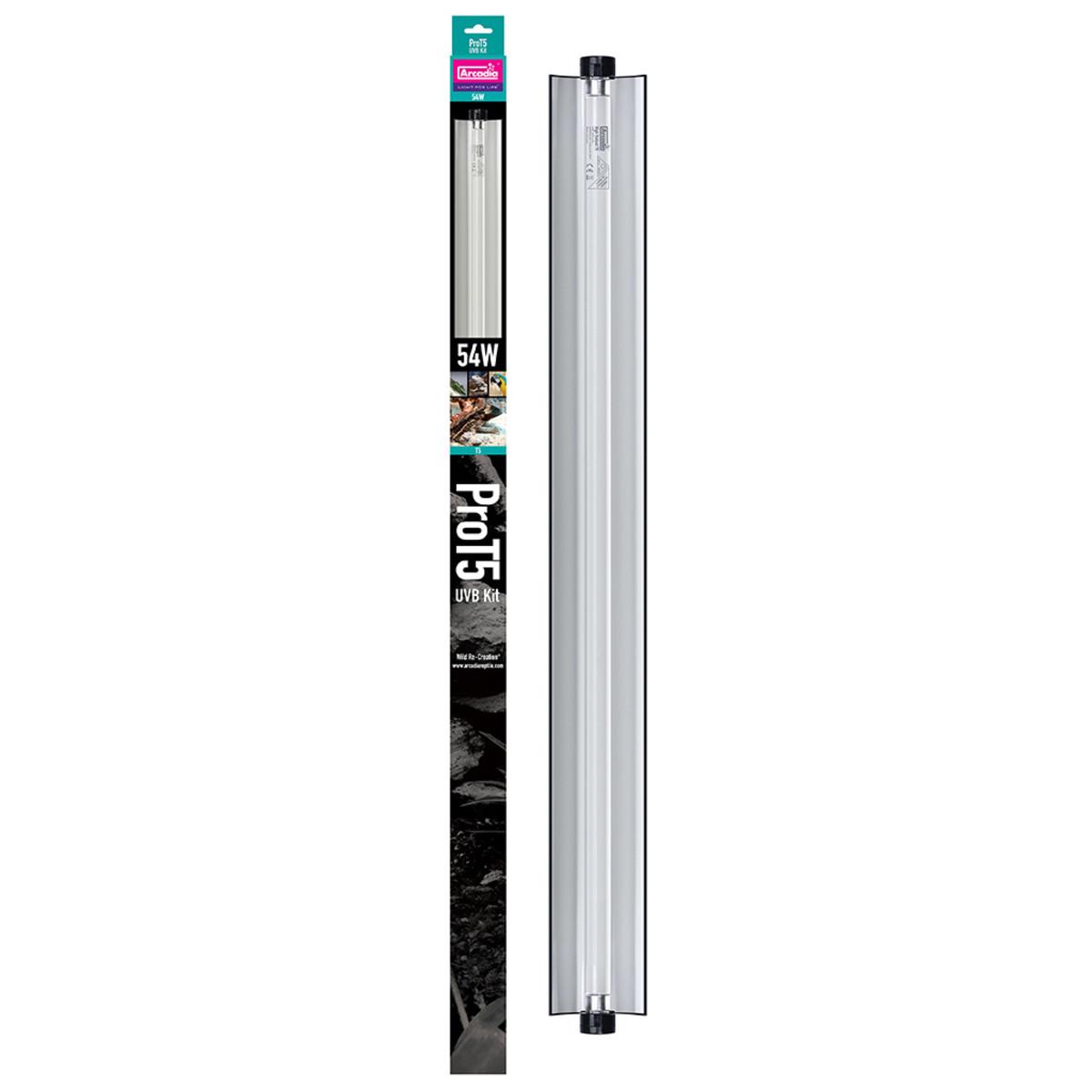 Arcadia Pro T5 UVB Kit, Desert 12% - 54w (46