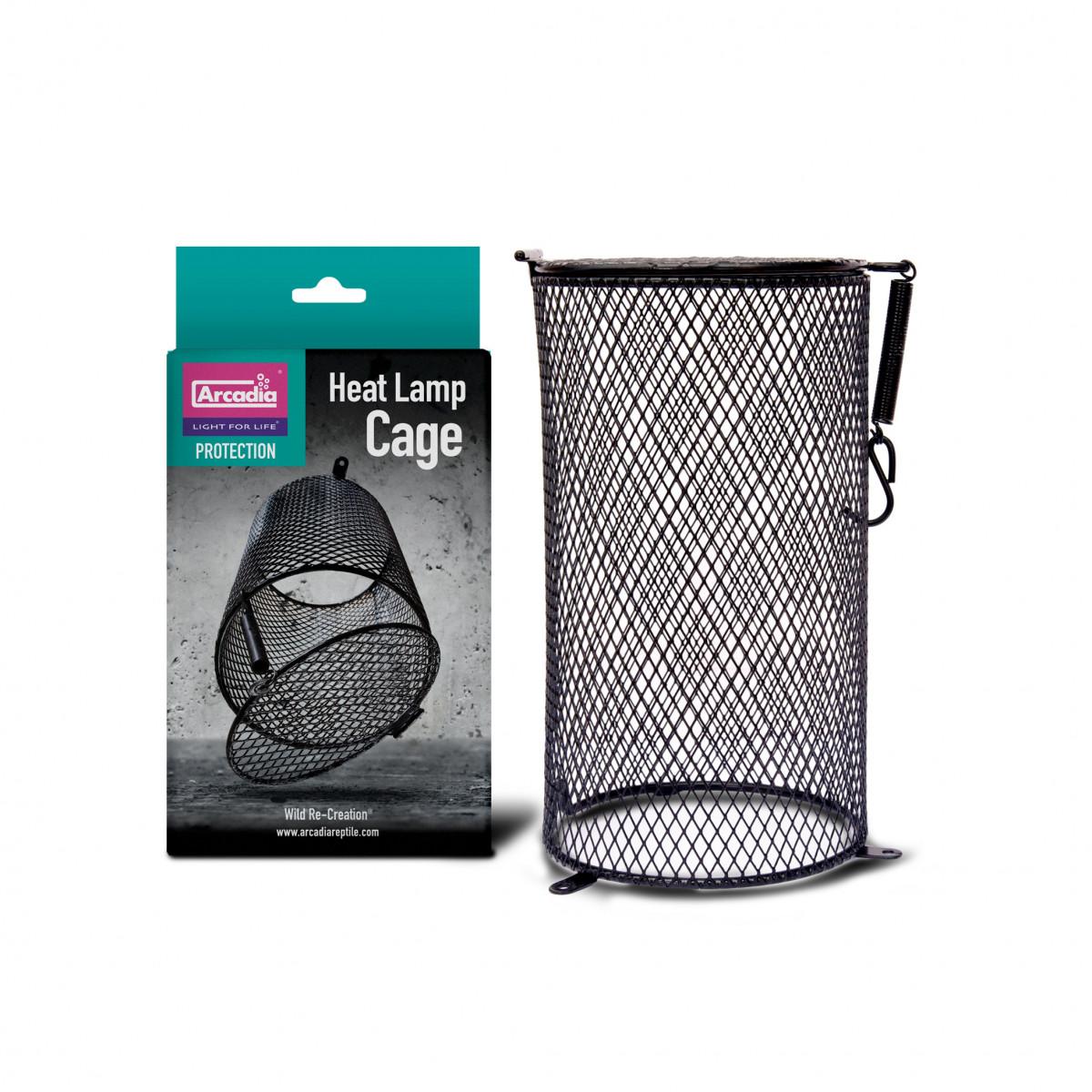 Arcadia Heat Lamp Cage, 120mm d