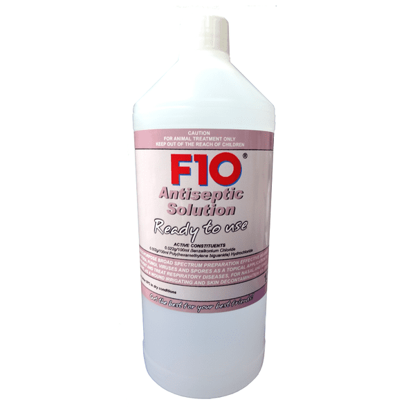F10 Antiseptic Solution - Ready to use, 1 litre