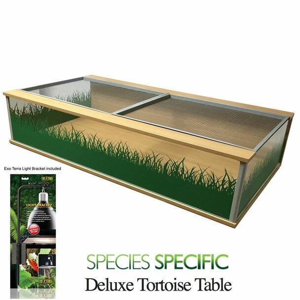 Viv Exotic DLX Large Tortoise Table - Oak (3ft 9