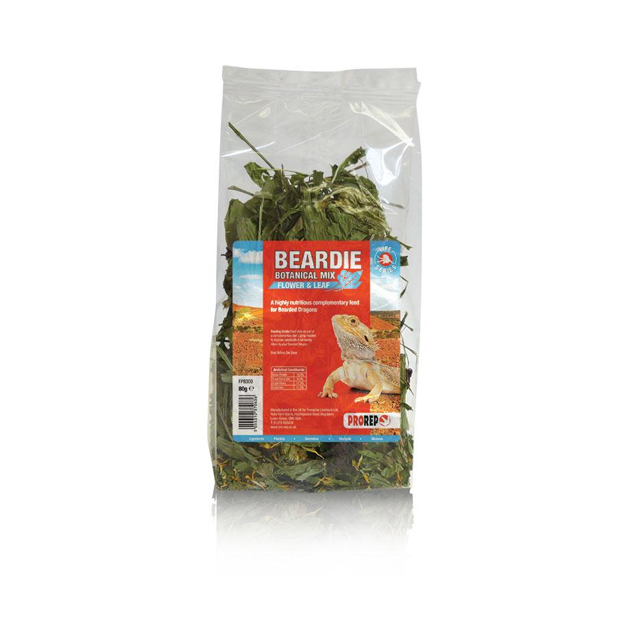 Pro Rep Bearded Dragon Botanical Mix, 80g