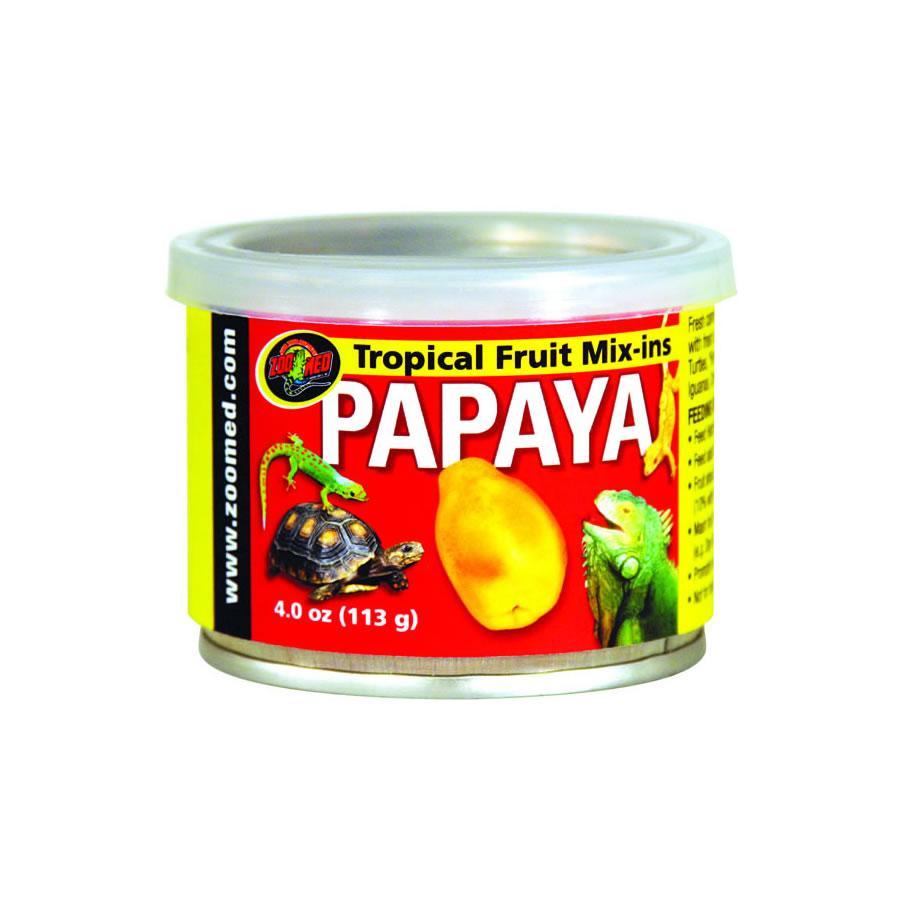 Zoo Med Tropical Mix-in - Papaya, 95g tin