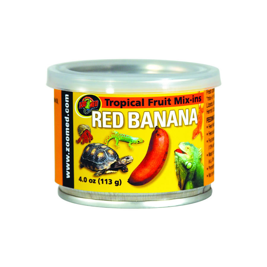 Zoo Med Tropical Mix-in - Red Banana, 95g tin