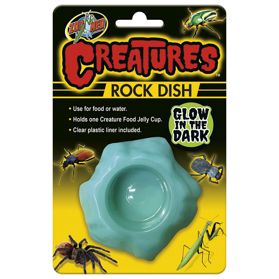 Zoo Med Creatures Glow in the Dark Rock Dish