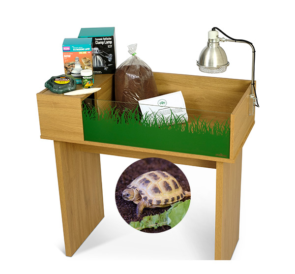 Horsfield's Tortoise Viv Exotic Viva Tortoise Table and Stand Package