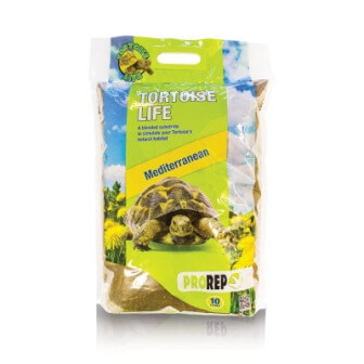 Pro Rep Tortoise Life Substrate, 10 Litres