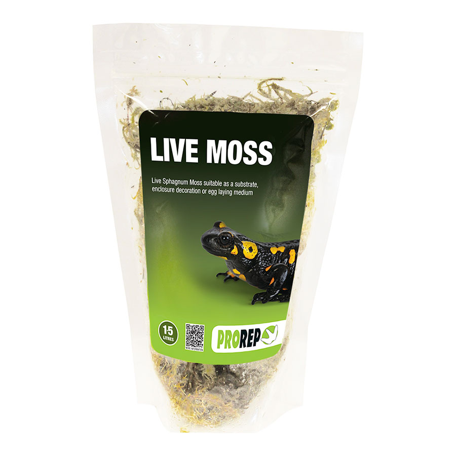Pro Rep Live Sphagnum Moss, Small Bag (Approx 1.5 Litres) - OUT OF STOCK