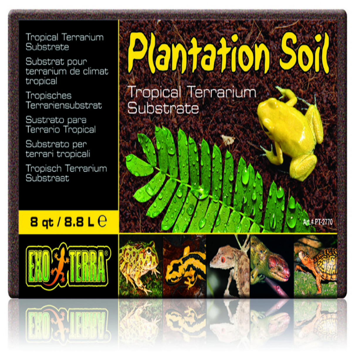 Exo Terra Plantation Soil (Expands to 8.8 litres)