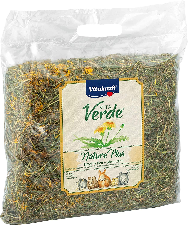 Vitakraft Vita Verde, Nature Plus - Timothy Hay + Dandelion, 500g - OUT OF STOCK