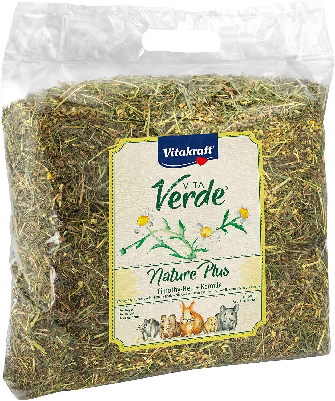 Vitakraft Vita Verde, Nature Plus - Timothy Hay + Chamomile, 500g